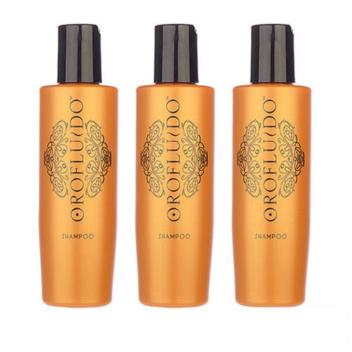 3 PCS Orofluido Shampoo 200ml X3= 600ml Hair Shampoo Argan Organic Oil by Orofluido