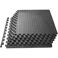 ProSource Puzzle Exercise Mat, EVA Foam Interlocking...