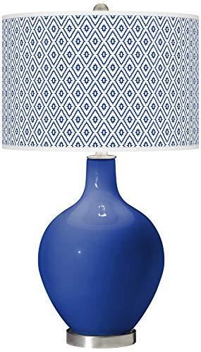 Dazzling Blue Diamonds OVO Table Lamp - Color + Plus ()
