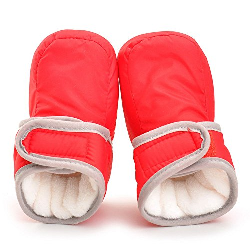 Pictures of Enteer Infant Waterproof Snow Boots Premium Soft 4