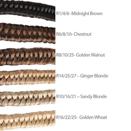 Amazon.com   Hairdo Jessica Simpson Elastic Braid Headband Chestnut    Fashion Headbands   Beauty 6fbb0c8395d