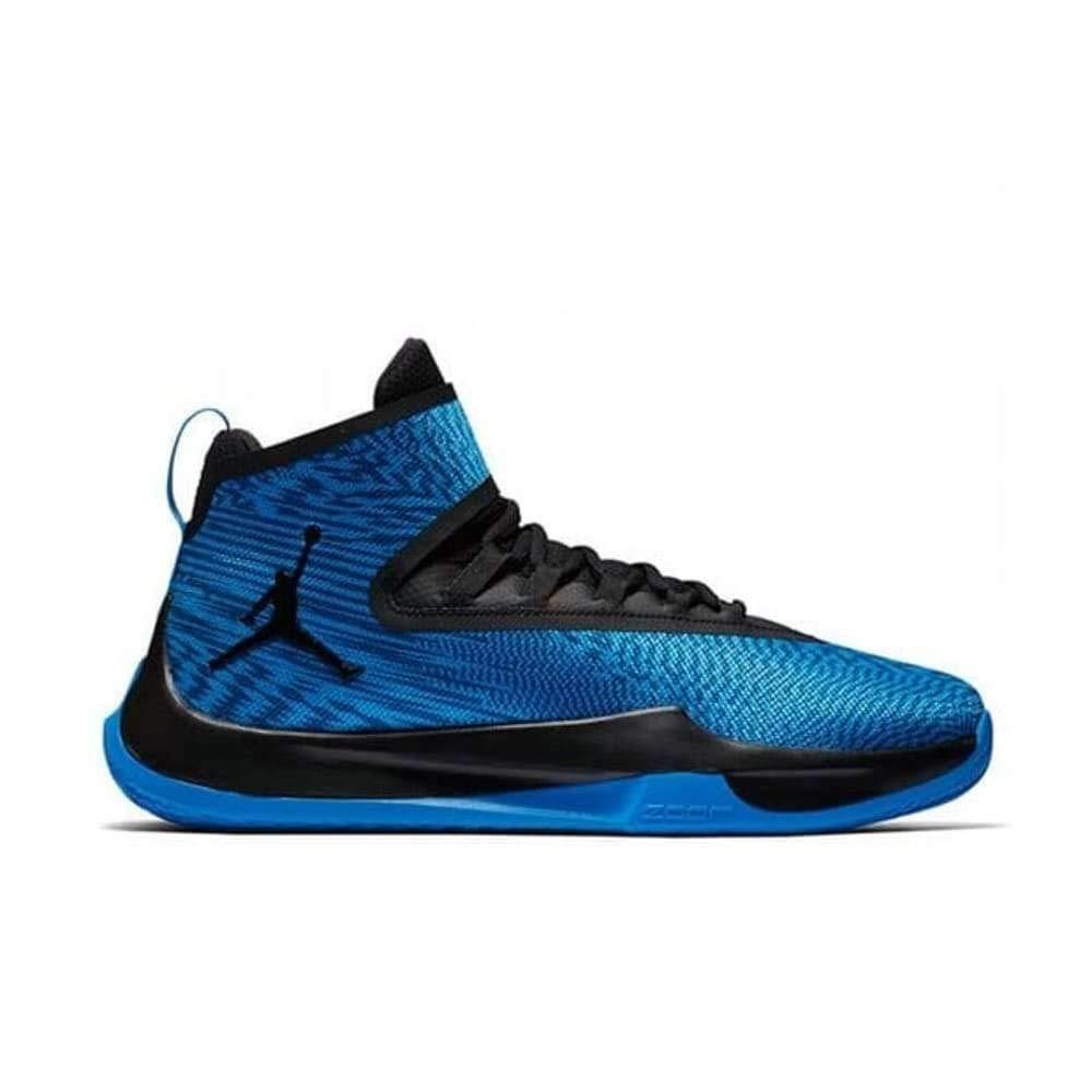 Jordan Nike Fly Unlimited, Herren Basketballschuhe, Blau (Italien Blau Schwarz Schwarz), 47 EU