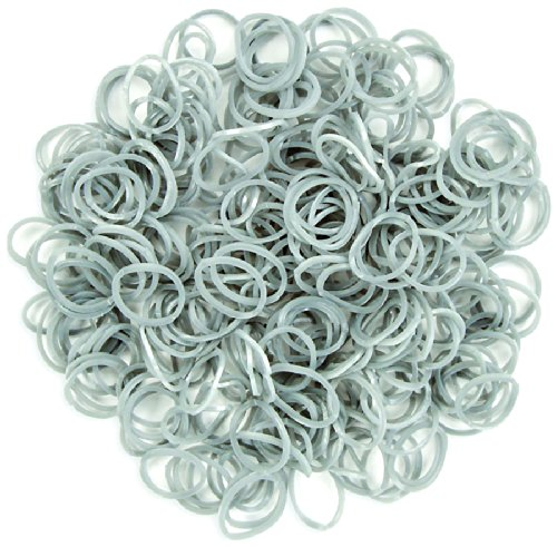 Darice Stretch Band Bracelet Loops and S-Clips - Silver - 312 pieces RB1023