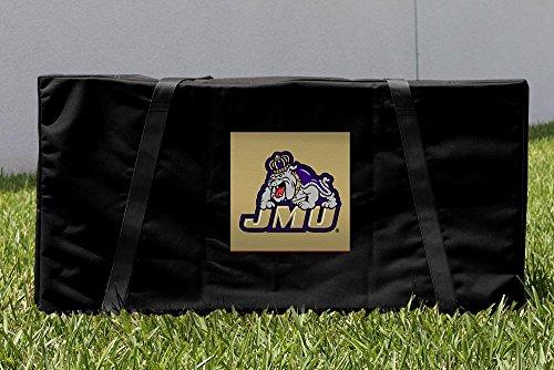 James Madison University JMU Dukes Cornhole Storage Carrying