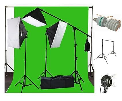 Buy ePhoto 10 x 20 Muslin Chromakey Green Screen Background