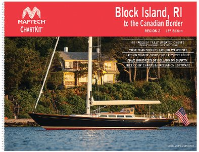 Maptech Chartkit Region 2 Block Island, RI to Canadian Border 16th Edition ()
