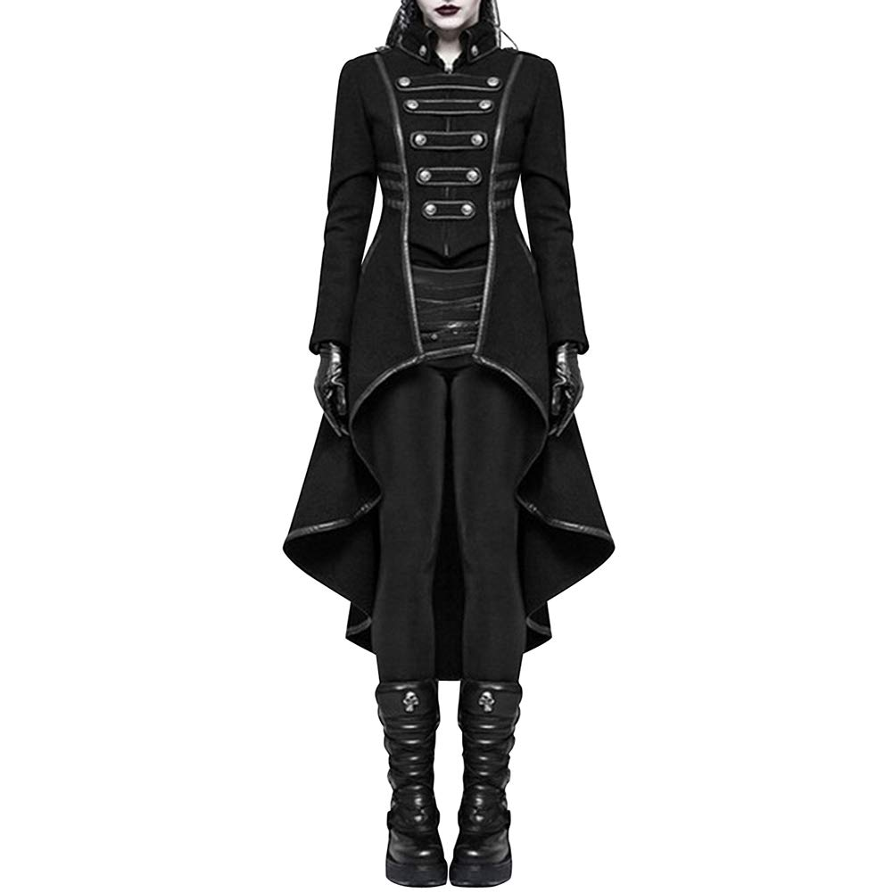 KAMA BRIDAL Vintage Medieval Steampunk Victorian Jacket Gothic Tailcoat Costume