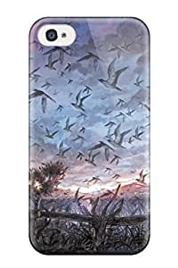 New Animal Bird Clouds Landscape Original Scenic Shimetta Oshime Sky Tree Tpu Skin Case Compatible With Iphone 5c