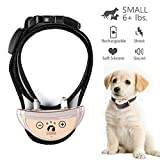 Cheap OvoStyle 2019 New Upgraded Rechargeable Dog Bark Collar and Anti-Barking with 5 Levels Automatic No Bark Collar for Small Medium Large Dogs No Harm Shock Safe Stop Bark (6+lbs) (Small, Medium, Large)
