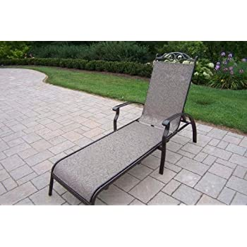 Amazon.com: Oakland Living Cascade Sling 3 Piece chaise ...