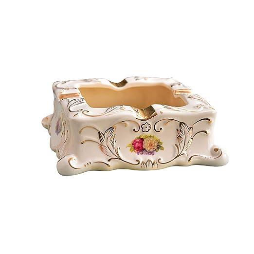 OPIB Vintage cerámica cenicero de Moda Ideas Moderna Mesa cenicero ...