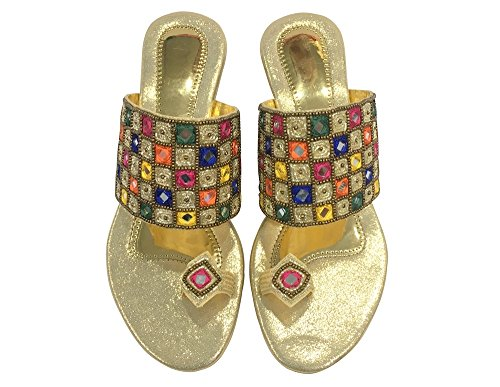 Wedding n Style Party Khussa Ethnic Shoes Jutti Jooti Women Shoes Step Shoes Indian x0TAdwUUq