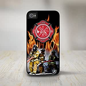 """50-265-Firefighter"""" Firefighter iPhone 5 Case, iPhone 5s Case, Protective Phone Cases"""