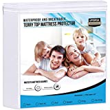 Utopia Bedding Premium Waterproof Mattress Protector - Fitted Mattress Cover (Twin)