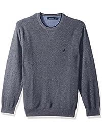 Men's Long Sleeve Crew Neck Sweater