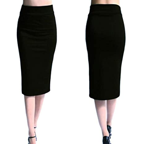 KLGDF Falda Nueva Falda de Mujer Mini Falda Bodycon Oficina de ...