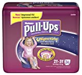 Health & Personal Care : Huggies Pull-Ups Training Pants, Nighttime, Girls, 2T-3T, 24-Count (Pack of 4)