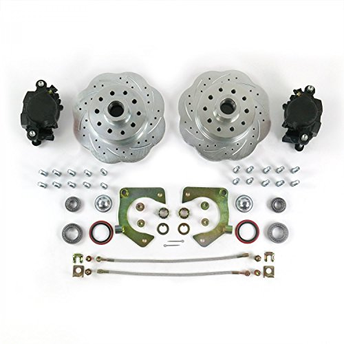 Helix 729811 Triangulated 4-Link Kit (Mustang II Disc Brake Conversion 2-piece Spindle 11in Big Brake Conversion 5x4.5), 1 Pack
