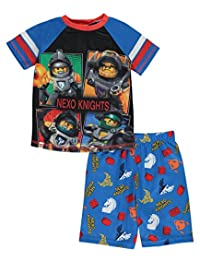 "Lego Nexo Knights Little Boys' ""Night Knight"" 2-Piece Pajamas"