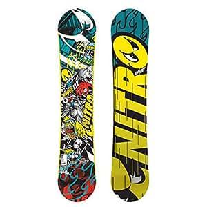 Nitro Ripper AM Youth Zero - Tabla de snowboard, multicolor