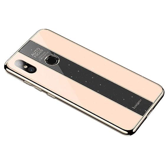 pretty nice 19d66 bf569 Amazon.com: Slim Case for Xiaomi Mi 8,Shockproof Cover[Anti-Scratch ...