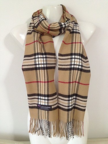 100-cashmere-scarf-made-in-scotland-plaid-design-beige-color-super-soft
