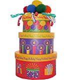 Happy Birthday To You! Snacks and Treats Gift Tower (Empty Box Only)