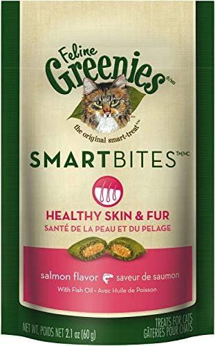 Feline Greenies Salmon SmartBites 1 6Lbs