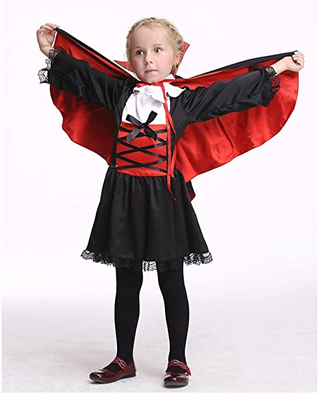 ROCK1ON Disfraz de Vampiro para Niños Disfraces de Halloween ...