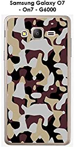 Carcasa Samsung Galaxy O7 – On7 – G6000 Design camuflaje 2 arena