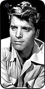 Burt Lancaster - Hard Black Plastic Snap - On Case with Soft Black Rubber Lining-Apple Iphone 5C ONLY- Great Quality!
