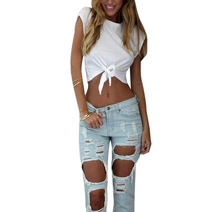 Froomer Women Sleeveless Camisole Shirt Summer Casual Blouse Crop Tops