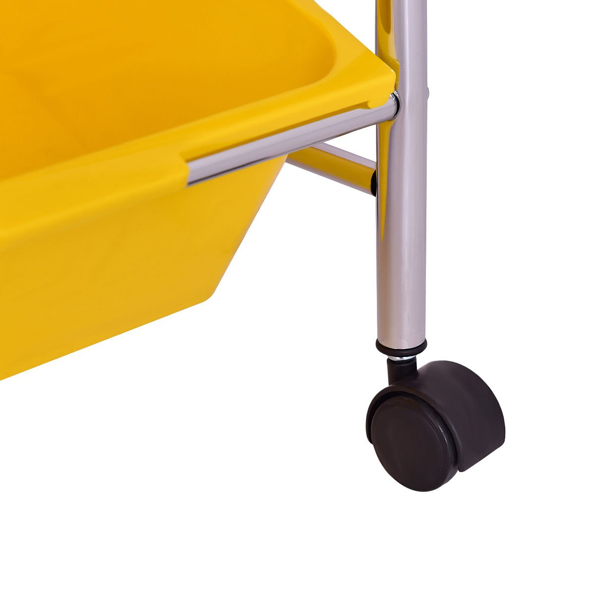 KCHEX>Toy Bin Cart Rack Organizer Kids Childrens Storage Box Playroom Bedroom Shelf>This is Our 9 Plastic Drawer Rolling cart, which is of and Brand New. Thanks to its Colorful Plastic by KCHEX (Image #7)