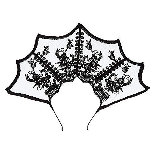 dentelle en Serre Femmes tte Claire's couronne noir XCZwxn6