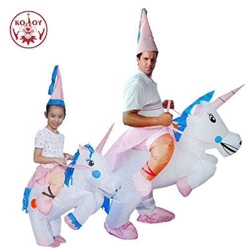 Inflatable Costume Unicorn Carnival Holiday Pegasus Costumes by Crystalbella Inflatable Cos