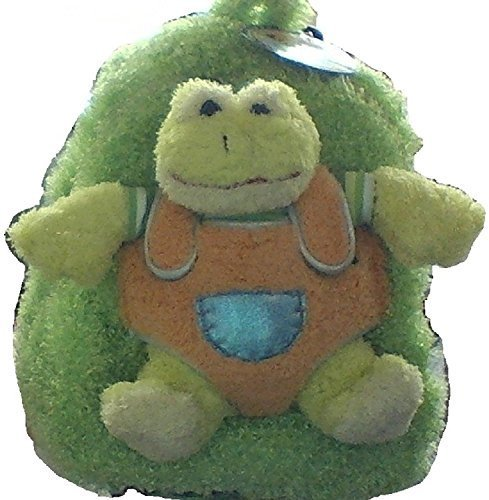 Pecoware Best Buddy Green Frog Backpack with Removable Wheels