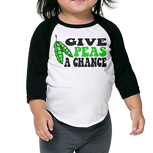 SH-rong Give Peas A Chance Toddler Custom Tshirt