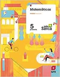 Matemáticas. 5 Primaria. Más Savia: Amazon.es: Mercedes
