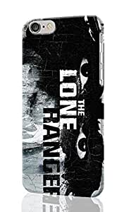 The Lone Ranger Pattern Image - Protective 3d Rough Case Cover - Hard Plastic 3D Case - For iPhone 6 - 4.7
