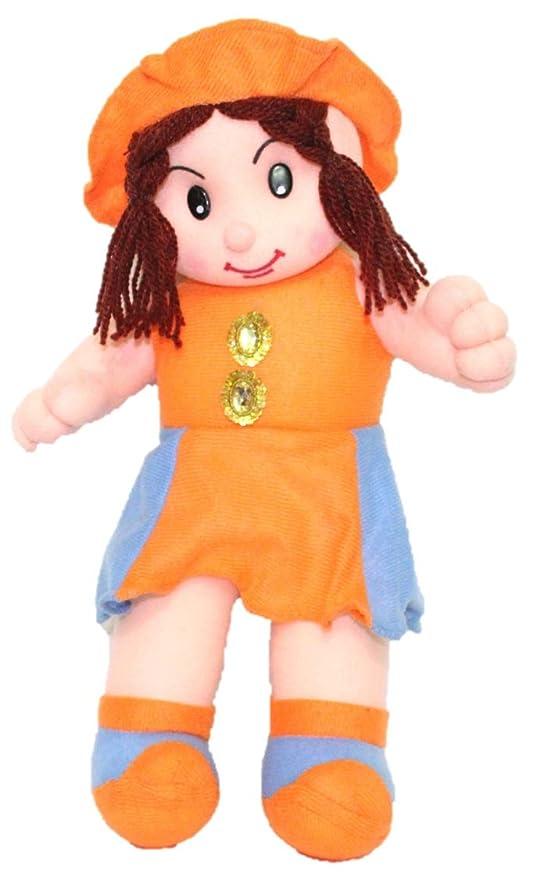 Buy Kabir Kirtika Toys Orange Doll Teddy Toy For Home Car