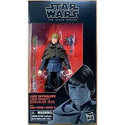 "Star Wars The Black Series 6"" inch Luke Skywalker (Jedi Knight) Action Figure: Toys & Games"