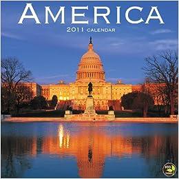 America 2011 Mini Calendar