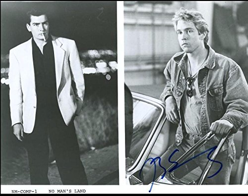 D.B. Sweeney No Man'S Land Promo Signed 8x10 Photo - Certified Authentic