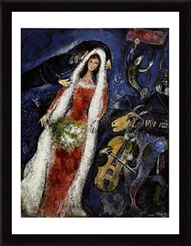 Amazon.com: Marc Chagall Poster Art Print and Frame (MDF) Black - La ...
