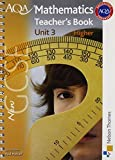 img - for New AQA GCSE Mathematics Unit 3 Higher Teacher's Book by Paul Winters (2010-06-09) book / textbook / text book