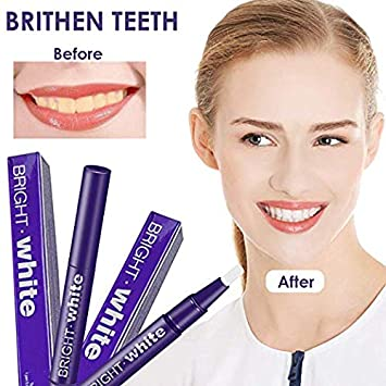 Teeth Whitening Pen, 4Pack Teeth Whitening Gel Pen with Safe 35 Carbamide Peroxide Gel Professional Pearl Teeth Whitening Kit, No Sensitivity, Natural Mint Flavor