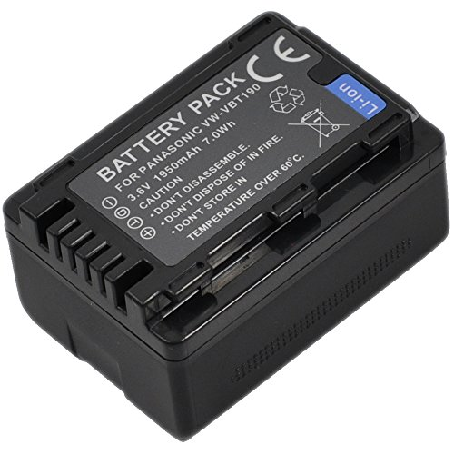SPS Brand 12V 2.3Ah Camcorder Replacement Battery for Chinon CV-T65 Video Camera 2 Pack