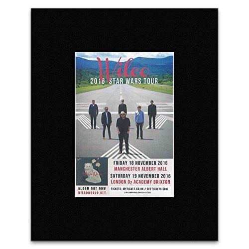 Wilco - 2016 Star Wars Tour Mini Poster - 25.4x20.3cm