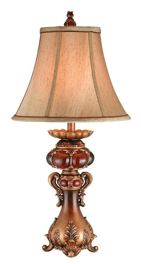 Amazon.com: OK iluminación 31 en. Latón Envejecido lámpara ...