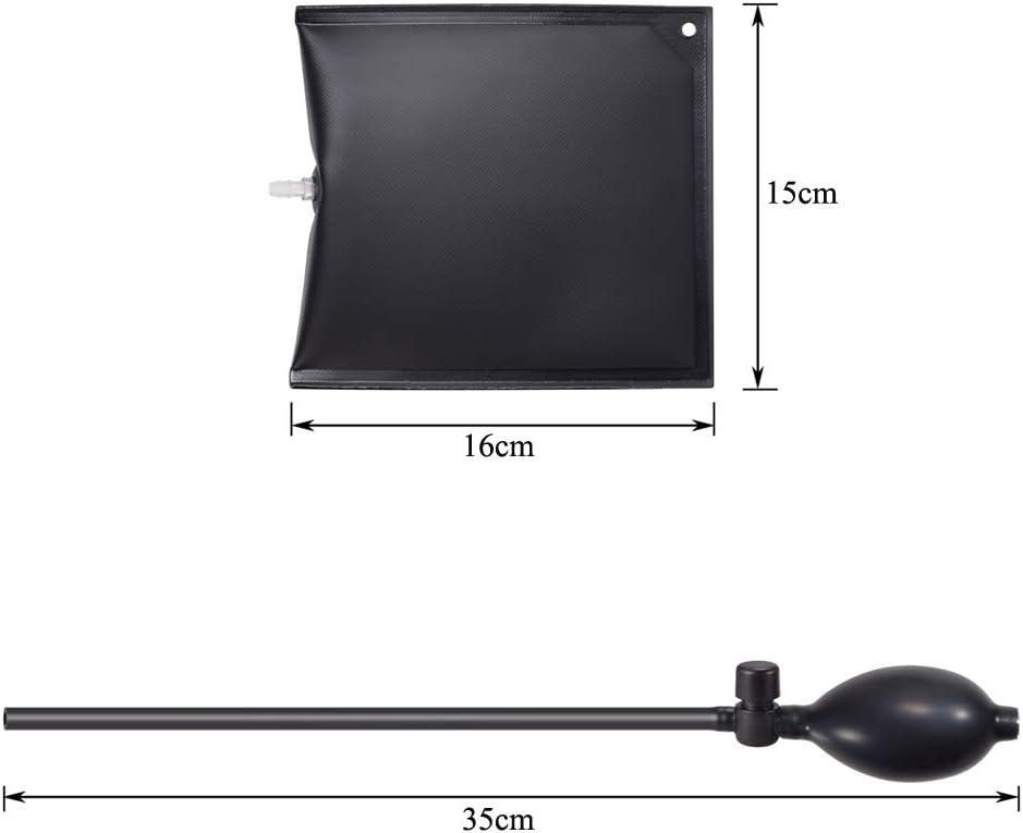 Cuñas de aire PChero, cuña/cuña/tope de puerta/palanca, 200 kg ...
